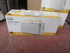   1X   4 SLICE TOASTER   UNCHECKED & BOXED   NO ONLINE RESALE   SKU C057172148790   LOAD REFERENCE