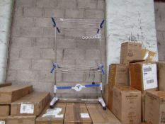   10X   NU BREEZE COOL AIR CLOTHES DRYING SYSTEM   UNCHECKED & BOXED   SKU -   RRP £49.99   TOTAL