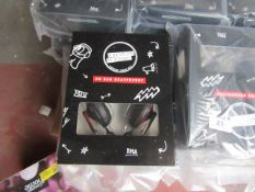 20x 5 Seconds of Summer headphones, new and boxed.