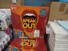 Hasbro - Speak Out Adult Game - New & Packaged.