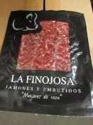 10 x 100g Packets La Finojosa SALCHICHON (simular to chroizo) BB 13.3.22 RRP £5 per packet