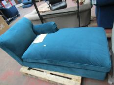   1X   MADE.COM L-SHAPE PART OF A SOFA THAT INCLUDES A LIFT UP S TORAGE COMPARTMENT  THIS IS PART