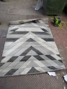   1X   THINK RUGS PEMBROKE RUG   120CM X 170CM   SEE PICTURE FOR DESIGN   RRP £82  