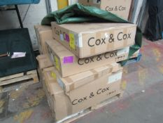   1X   COX AND COX RAVENNA VERSATILE DAYBED   UNCHECKED AND BOXED   RRP CIRCA œ1100  