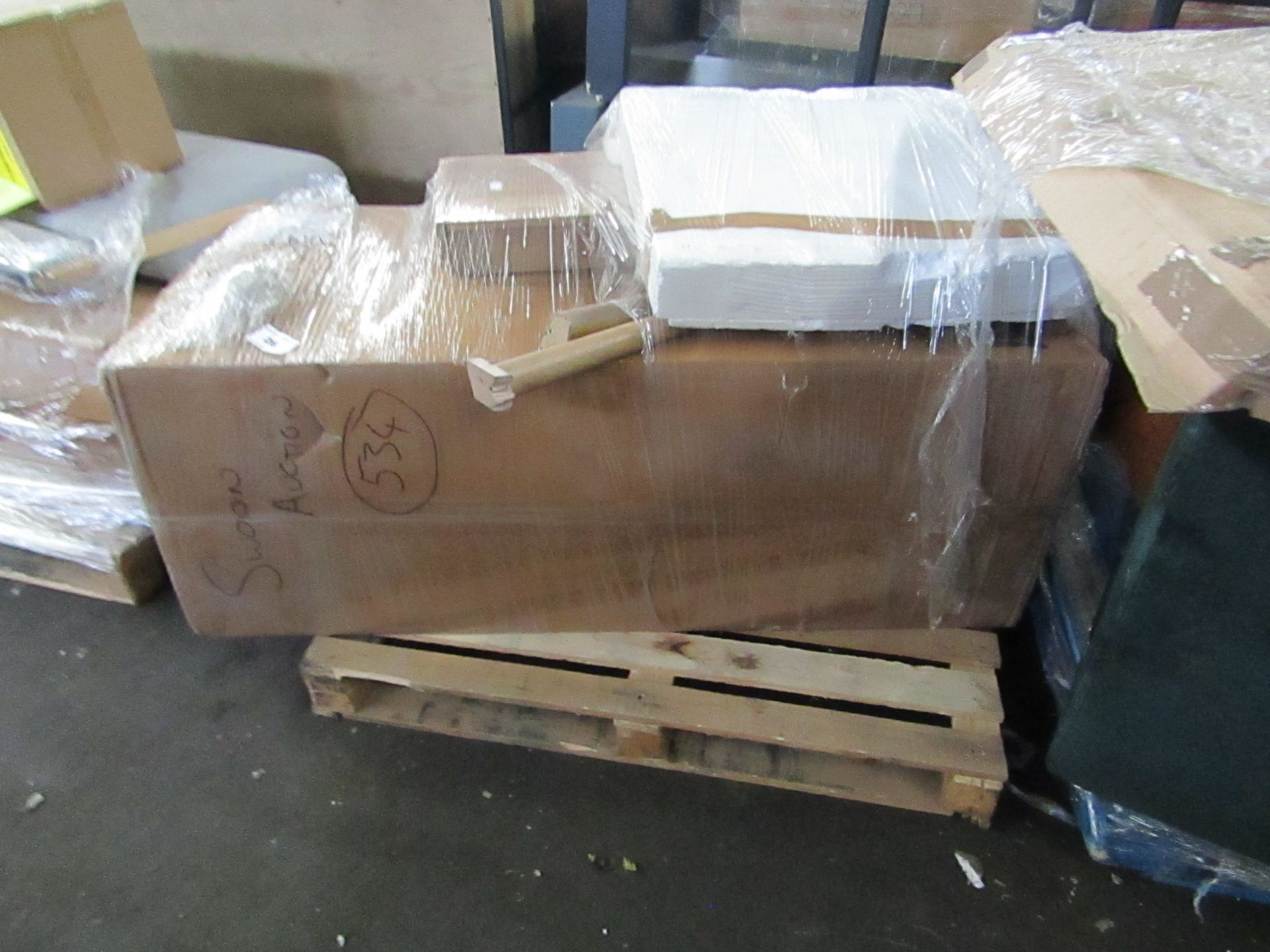   1X   PALLET OF FAULTY / MISSING PARTS / DAMAGED CUSTOMER RETURNS SWOON STOCK UNMANIFESTED   PALLET