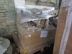 Mixed pallet of Cox & Cox customer returns to include 7 items of stock with a total RRP of