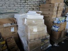 1X PALLET CONTATINING RAW CUSTOMER RETURNS FROM A HIGH STREET RETAILER - ALL UNCHECKED SEE PHOTO FOR