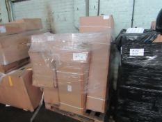 | 1X | PALLET OF RAW CUSTOMER BATHROOM CABINETS RETURNS FROMA LARGE RETAILER | UNCHECKED RETURNS |