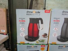 | 5X |DREW & COLE REDIKETTLE VARIOUS SIZES | UNCHECKED & BOXED | NO ONLINE RESALE | RRP £34.99 |