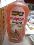4x Rustins - Wallpaper Remover - 300ml Bottles - New & Packaged.