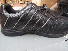 Trojan - Safety Work Trainers Black - Size 11 - Unused & Boxed.