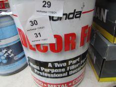 Bonda - Décor Fill (A two Part Multi-Purpose Filler - Wood / Metal / Concrete - 7kg - Unused.