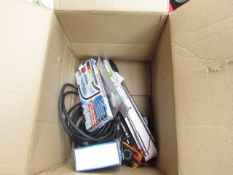 1x BOX OF VARIOUS TOOLS 1292 This lot is a Machine Mart product which is raw and completely