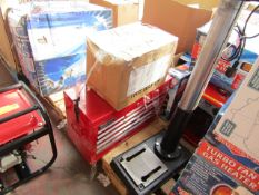 1x CL CHT634 TOOL CHEST 1255 This lot is a Machine Mart product which is raw and completely