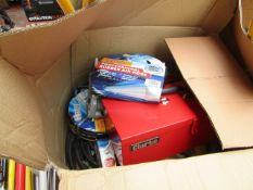 1x BOX OF VARIOUS TOOLS 1297 This lot is a Machine Mart product which is raw and completely