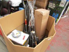 1x BOX OF VARIOUS SJ ITEMS 1284 1x PB STONE 150mm GREEN 1284 1x PB STONE 150mm FINE 1284 1x CC