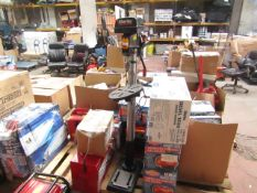 1x CL DRIL PRES CDP352F 1256 This lot is a Machine Mart product which is raw and completely