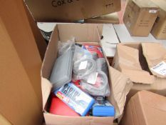 1x BOX OF VARIOUS TOOLS 1288 This lot is a Machine Mart product which is raw and completely