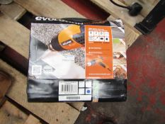 1x EV HEAT GUN 230V 2000W HDG2002, This lot is a Machine Mart product which is raw and completely