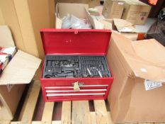 1x BOX OF VARIOUS TOOLS 1289 This lot is a Machine Mart product which is raw and completely