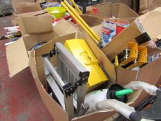 1x BOX OF VARIOUS TOOLS 1300 This lot is a Machine Mart product which is raw and completely