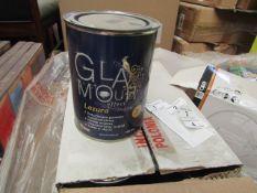 2X BOXES OF 6 GLAMOUR MATT PAINT, 750ML, BB 08-03-19