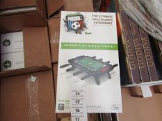 4X CLASSIC MATCH FOOTBALL FOR IPAD, NEW IN BOX