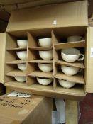 4x Alchemy - White Mugs - New & Unused.