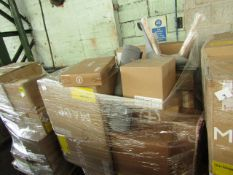 Mixed pallet of Made.com customer returns to include 18 items of stock with a total RRP of