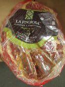 1 x La Finojosa 2.2 Kg Boneless Iberico Ham Shoulder BB 18.3.22 RRP £99 on Amazon Pata Negra -