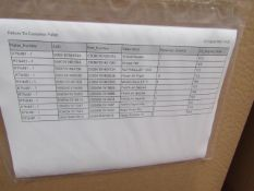   1X   PALLET OF VARIOUS ELECTRICALS (PLEASE SEE PICTURE FOR ESTIMATED QUANTITY) RTN 481   PALLET IS