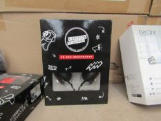 12x 5 Secondds of Summer branded on ear headphones, new and packaged.