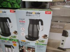   10X   DREW & COLE REDI KETTLE   UNCHECKED AND BOXED   NO ONLINE RESALE   RRP £69.99   TOTAL LOT