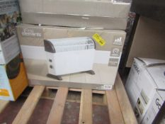   4X   FINE ELEMENTS 2000W CONVECTOR HEATER   UNCHECKED & BOXED   NO ONLINE RESALE   SKU