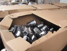  1X   PALLET OF VARIOUS CUSTOMER RETURN ELECTRICALS   PALLET IS RAW AND UNWORKED SO PLEASE BE