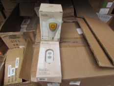12x BeOn Home smart light bulbs with 3x wireless remotes, easy set up with a app, no need for a hub,