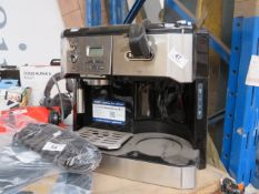 Delonghi BCO431S Combi Traditional Pump Espresso & Filter Coffee Maker - Powers on However we have