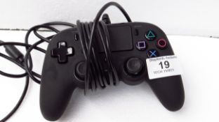 Nacon Wired Compact Controller for PS4 - Black - Untested & No Box - RRP £25
