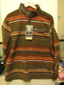 Craghopper lionel 1/4 zip HZ fleece, new size XL, RRP £75