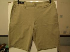 Hang ten Hybrid shorts with stretch, new size 36 waist