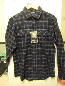 Craghopper Kiwi checked shirt, new size S, RRP £40