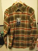 Craghopper Wilmot checked shirt, new size L, RRP £40