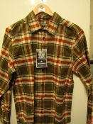 Craghopper Wilmot checked shirt, new size M, RRP £40
