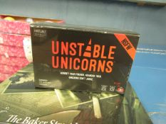 Unstopable Unicorn's - Card Game - New & Packaged.