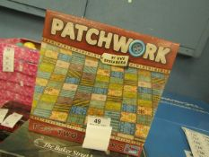 Patchwork - 2 Player Activity Game - New & Boxed.