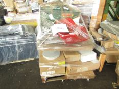 Mixed pallet of Made.com customer returns to include 14 items of stock with a total RRP of