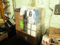1X PALLET OF RAW CUSTOMER RETURN ELECTRICAL ITEMS WITH SOME FITNESS   FROM A LARGE ONLINE RETAILER  