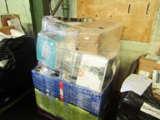 1X PALLET OF RAW CUSTOMER RETURN ELECTRICAL ITEMS FROM A LARGE ONLINE RETAILER   NO ONLINE