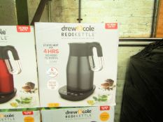   5X  DREW & COLE REDIKETTLE VARIOUS SIZES   UNCHECKED & BOXED   NO ONLINE RESALE   RRP £34.99  