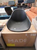   1x   MADE.COM BOONE UP TO 4 SEAT DINING CHAIR SET   LOOKS UNUSED (NO GUARANTEE)   RRP £899  